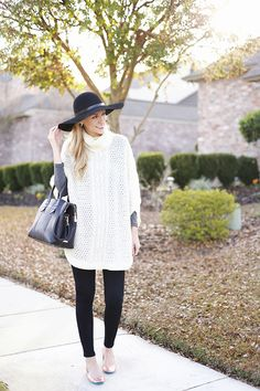 winter white with rose gold flats | Tieks