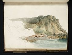 'Orchard Bay, Isle of Wight' 1795