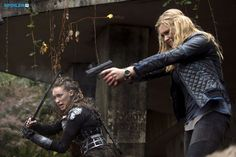 """#The100 2x10 """"Survival of the Fittest"""" - Lexa and Clarke"""