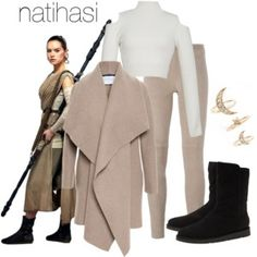 Rey Winter Outfit Star Wars