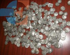 Romanian villager using metal detector finds treasure: 350 ancient silver coins