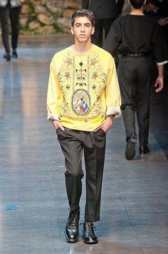 Défilé Dolce & Gabbana Automne-hiver 2013-2014 Homme - Madame...