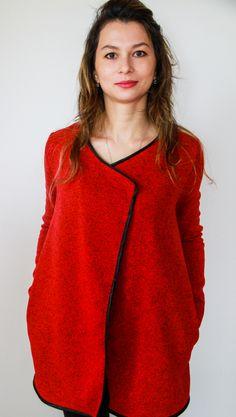 Návod a střih na tento cardigan najdete na webu Prošikulky.cz  #cardigan #fashion