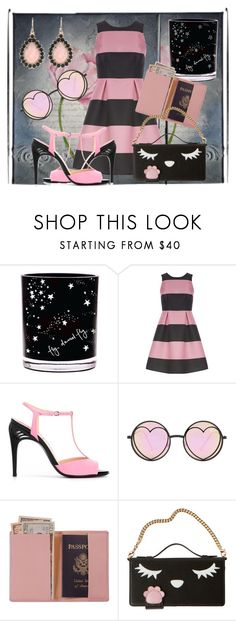 """Playtime"" by jndskiddo ❤ liked on Polyvore featuring Luxe, Fendi, Versace, Betsey Johnson and Royce Leather"