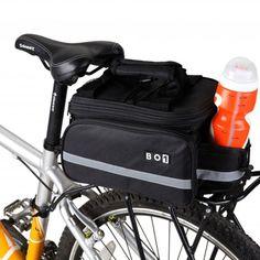 13L BOI Bike Bicycle Bag Large Cycling Bag Waterproof  Riding Rack Pack Bike Luggage Bag Pannier For commuting running