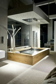 dream bathrooms Today we select 5 Modern Bathroom Design to 2018 that you'll fall in love with. We can have environments with modern but eccentric styles wich will differenciat Dream Bathrooms, Beautiful Bathrooms, Luxury Bathrooms, Modern Bathrooms, Luxury Bathtub, Spa Bathrooms, Modern Luxury Bathroom, Master Bathrooms, Bathroom Mirrors