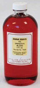 Anna Riva`s Dragon`s Blood Oil 16oz by New Age. $46.95. Warning: Keep out of reach of children. Use for potency, strength and protection. Pure anointing oil for external use only.