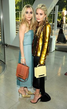 The Olsen twins certainly know their way around a red carpet.