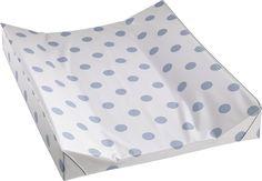 Kjøp Alvi Stellematte Prikker, Blå/Hvit | Babyutstyr Stellebord | Jollyroom