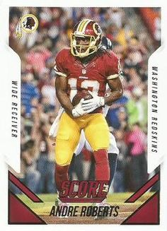 2015 Score #130 Andre Roberts Front