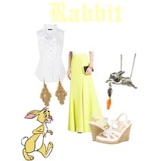 2fdca0284261 Rabbit inspired outfit