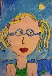 Beginning of the year self portraits..Also a great art website for classrooms