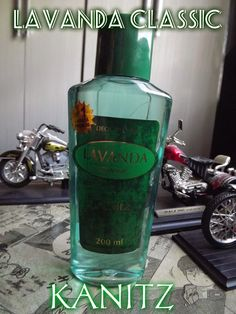 Make da Motociclista: Lavanda Classic Kanitz