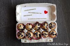 Die Welt der kleinen Dinge: Der letzte Beitrag zu meinem Päckchen: Blueberry Muffins