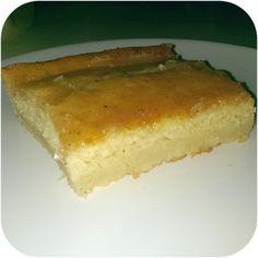 Vanillekuchen mit Vanilleguss