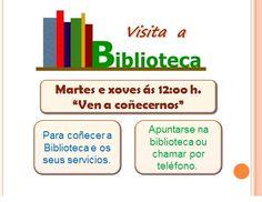 Visita a biblioteca.