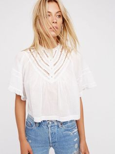 Free People Lush Life Top XS NWT White #FreePeople #CropTop #any