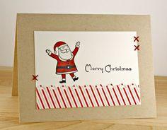Cute Santa card.