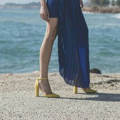 f5e8666a37 Summer colorful mood in  MIGATO ST4976 yellow pointy pumps! Shop Now ▻ bit.
