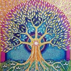 Flowing Tree of Life