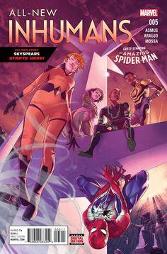 All-New Inhumans #5 Marvel Comics (2016)