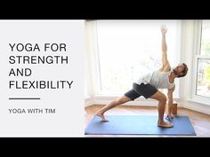 Tony's Daily Yoga Routine 20 Minute Workout - YouTube