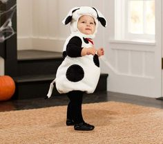 Baby Puppy Costume - Dalmatian to go with Firefighter costumes