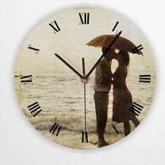 Round Photo Clock