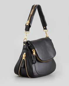 Tom Ford - Jennifer Large Calfskin Shoulder Bag