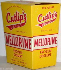 Cutlip's Mellorine - North Bend, OR North Bend Oregon, Oregon Coast, Ice Cream Freeze, Vintage Box, Frozen Desserts, Deserts, Sweet, Ancestry, Southern