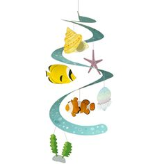String Decoration : Sea Creatures - Others - Parties & Events - Paper CraftCanon CREATIVE PARK