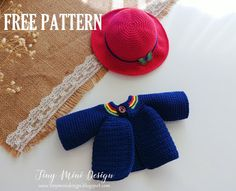 Mesmerizing Crochet an Amigurumi Rabbit Ideas. Lovely Crochet an Amigurumi Rabbit Ideas. Baby Knitting Patterns, Crochet Toys Patterns, Knitting For Kids, Knitting Toys, Crochet Doll Clothes, Doll Clothes Patterns, Crochet Dolls, Crochet Hats, Cardigan Au Crochet