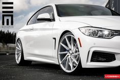 Clean Alpine White BMW 435i By Exclusive Motoring