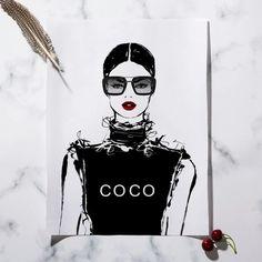(1) Paris Glasses Fashion Girl Wall Art Black White Nordic Bedroom Canvas, Canvas Quotes, Diy Canvas Art, Beautiful Bedrooms, Girl Fashion, Paris, Black And White, Glasses, Wallpaper