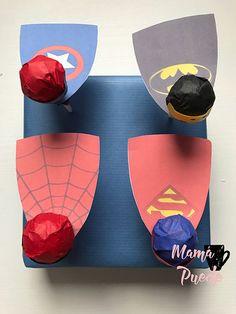 chuches superhéroes Ideas Para, 4th Anniversary