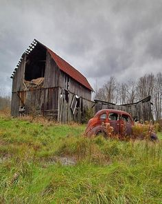 10 Great Barns With Cars And Trucks