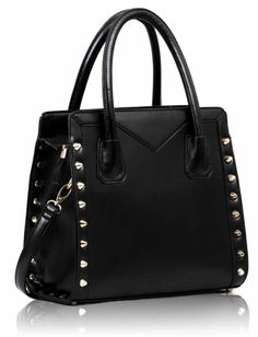 Spikes all over. Shoulder Bag, Handbags, Lady, Womens Fashion, Leather, Vintage, Spikes, Spring 2014, Handle