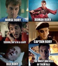 Rory from DR Who