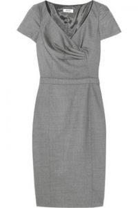 Moschino Cheap and Chic  Wool-blend shift dress