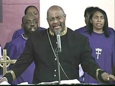 Pastor Marvin Winans singing at New St. Paul Tabernacle COGIC where Bishop P.A. Brooks presides