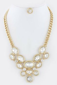 D2 by Dikuza Gold with Clear Oval Crystal Stacked Bib Jewelry Fashion Statement Necklace D2 by Dikuza,http://www.amazon.com/dp/B00H45KTB4/ref=cm_sw_r_pi_dp_kkE0sb1WVF9HG1ZV