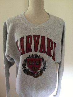b8dda335b35 Vintage Harvard Sweatshirt by 21Vintage on Etsy
