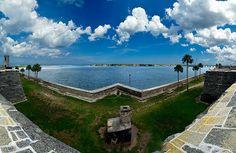 Castillo View -   Castillo View    Matanzas Bay  Castillo de San Marcos National Monument  St. Augustine, Florida