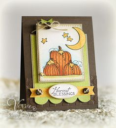 Harvest Blessings by PickleTree - Cards and Paper Crafts at Splitcoaststampers
