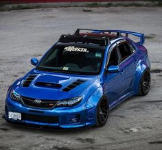 Race Car, Show Car, or Daily Driver? #Sti #Subie