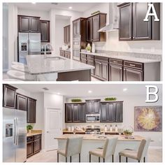 Both #kitchens are good LOOKING, but in which one would you rather be COOKING?