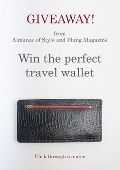 This wallet from Lili T. (retail  135) has two compartments for keeping  travel c7b9576c31