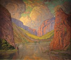 Pierneef: A Space for Landscape brings together a wealth of paintings and prints from numerous collections, to create the first major. Abstract Landscape, Landscape Paintings, Landscapes, Oil Paintings, South Africa Art, Landscaping Near Me, South African Artists, Witch Art, Commercial Art