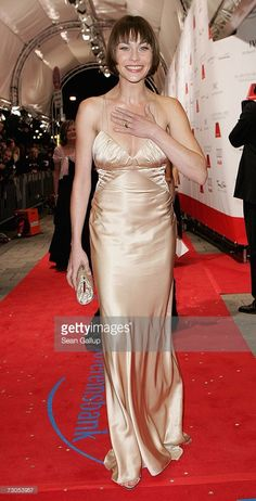 Actress Christiane Paul attends the 34th annual German Film Ball at the Bayerischer Hof Hotel January 20, 2007 in Munich, Germany.