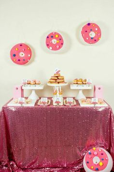 Little Big Company The Blog: A Fun Filled Donut Inspired Party by Perfectly Sweet
